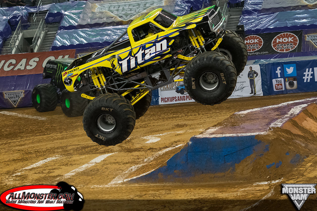 Monster Jam, starring the biggest performers on four wheels: Monster Jam monster trucks! The twelve-feet-tall, ten-thousand-pound machines will bring you to your feet. Come out for some family excitement.