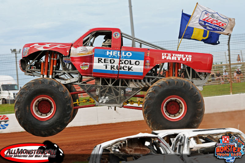 red giant truck - photo #24
