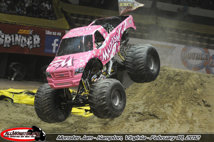 Monster Jam Photos Hampton Virgina  February 18 2012 730pm Show