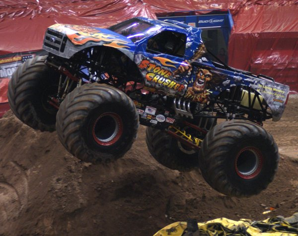 The Monster Jam schedule is in full swing. The monster truck extravaganza is.