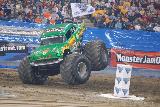 Indianapolis Indiana Monster Jam January 26 2008 Allmonster Com Where Monsters Are What Matters