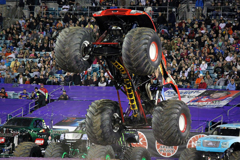 Meet Becky McDonough. She'll be behind the wheel of El Toro Loco Saturday at EverBank Field for Monster Jam Delta Airlines Jacksonville Fl Jacksonville, Florida has a few credits to its name when it comes to numbers. It's the most populous city in not just the state of .