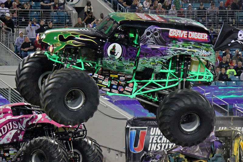 JACKSONVILLE, Fla. - Monster Jam will be performing at EverBank Field in Jacksonville on Saturday, February 24, Gates open at 5 PM, opening ceremony and racing starts at 7 PM. The event will.