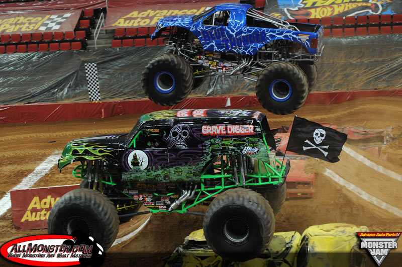 monster jam®, monster jam world finals®, triple threat series™, united states hot rod association®, ushra®, afterburner®, backwards bob®, blue thunder®, captain's curse®, crusader®, dragon's breath®, earthshaker™, el diablo®, el toro loco®, grave digger®, grave digger the legend®, grinder®,maximum destruction®, max-d.