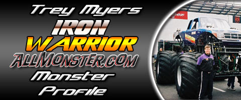Trey Myers - Iron Warrior - Monster Profile