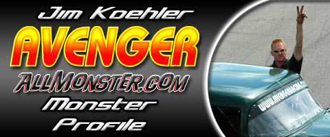 Jim Koehler - Avenger - Monster Profile