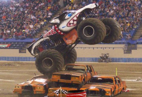 Chris Bergeron - Spike Monster Truck