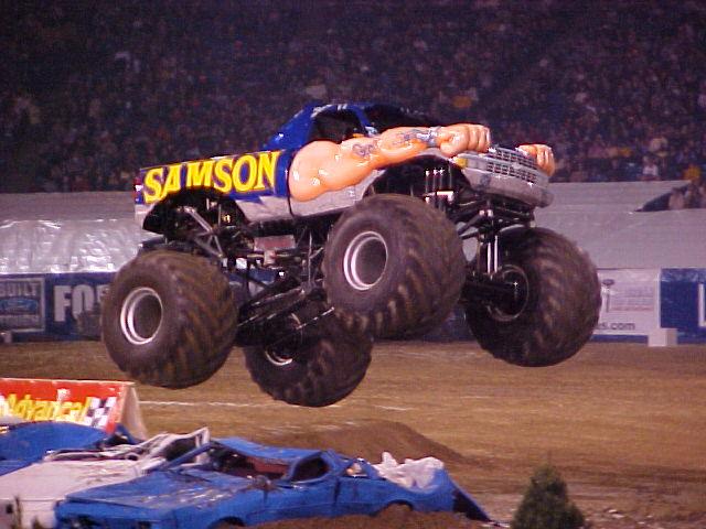 Pontiac Michigan - Monster Jam - January 15, 2005 ...