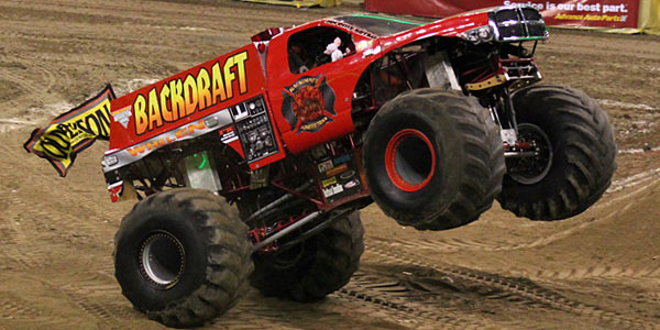 Backdraft Monster Truck Team - Champion Racing Oils