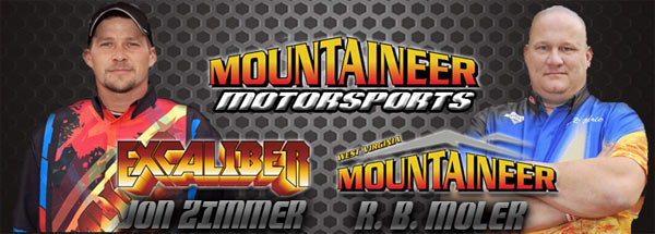 Mountaineer Motorsports - Jon Zimmer - Excaliber - RB Moler - West Virginia Mountaineer