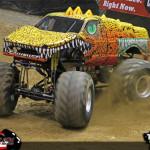 Smashosaurus - Youngstown Toughest Monster Truck Tour 2013