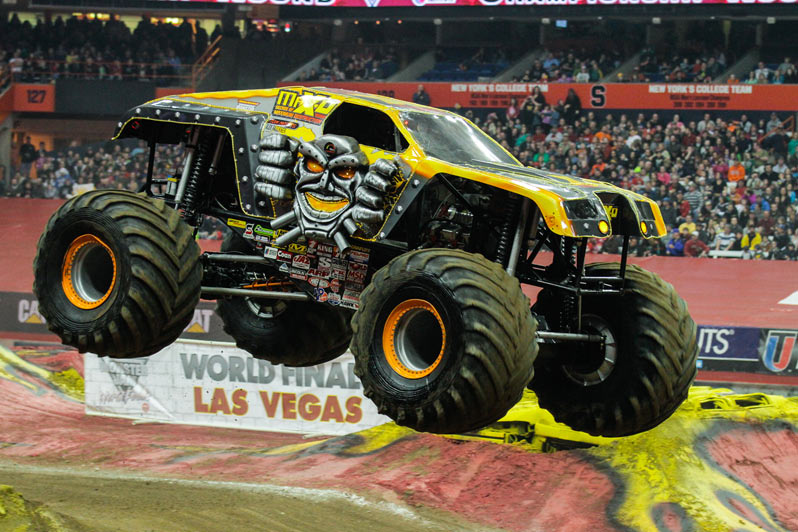 Grave Digger Max D Victorious In Syracuse Monster Jam
