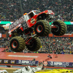 Backdraft - Syracuse Monster Jam 2013