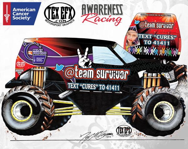@team_survivor monster truck render