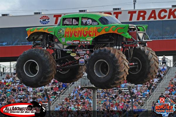 Avenger- Charlotte Motor Speedway - Back To School Monster Truck Bash