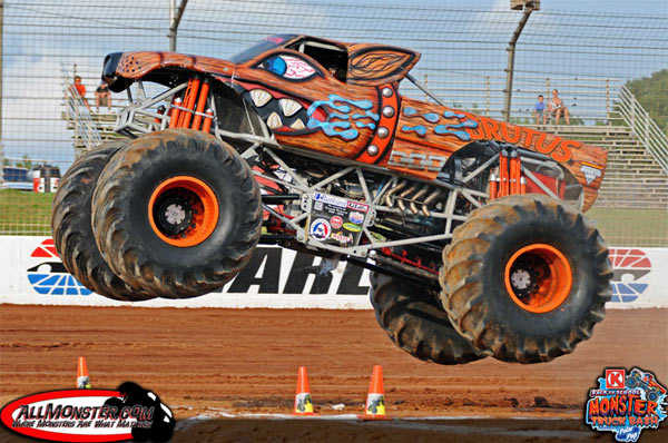 Brutus - Charlotte Motor Speedway - Back To School Monster Truck Bash