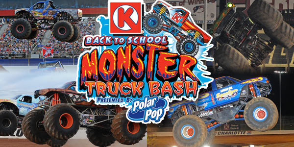 Charlotte Motor Speedway - Back To School Monster Truck Bash