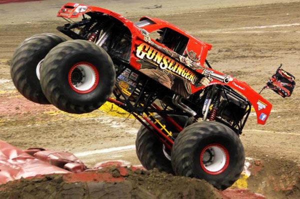 Gun Slinger - Charlotte Motor Speedway - Back To School Monster Truck Bash