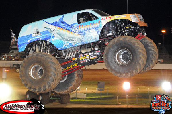 Hooked - Charlotte Motor Speedway - Back To School Monster Truck Bash