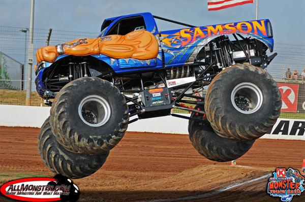 Samson - Charlotte Motor Speedway - Back To School Monster Truck Bash