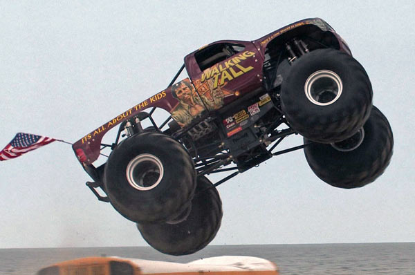 Walking Tall - Charlotte Motor Speedway - Back To School Monster Truck Bash