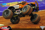 Raleigh, North Carolina – Monster Jam – April 11, 2014