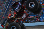 Joliet, Illinois – Monster Truck Mayhem – August 9, 2014