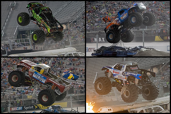 Bristol Monster Truck Madness Freestyle 2014