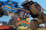 Runte and Sims Victorious at Back To School Monster Truck Bash