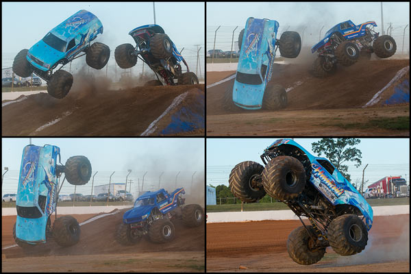 Hooked versus Bigfoot - 2015 Back To School Monster Truck Bash