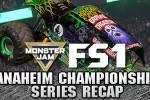 Adam Anderson Dominates Anaheim Monster Jam FS1 Championship Series