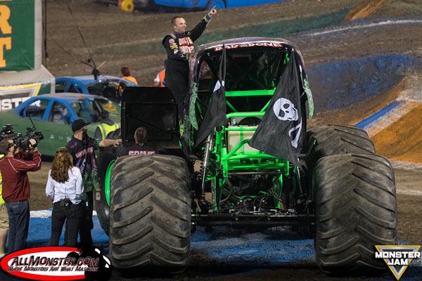 Grave Digger Monster Jam FS1 Championship Series