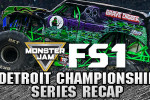 Adam Anderson Clinches Monster Jam FS1 Championship Series in Detroit