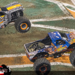 Stone Crusher vs Max-D - Indianapolis Monster Jam FS1 Championship Series