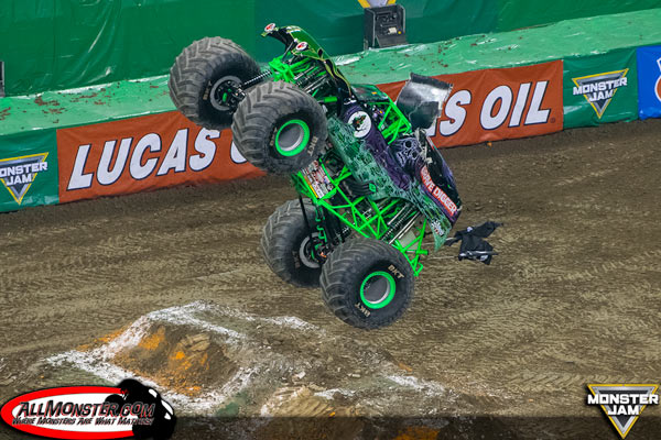 Grave Digger - Indianapolis Monster Jam FS1 Championship Series