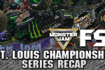 Bradshaw and Meents Stand Tall in St Louis | Monster Jam FS1 Championship Series
