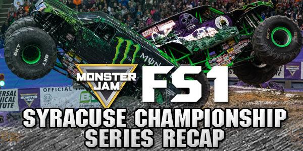 Syracuse Monster Jam FS1 Championship Series