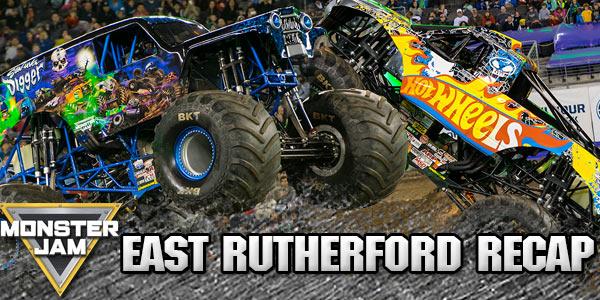 East Rutherford Monster Jam 2016