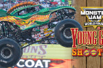 Scott Liddycoat and Dragon Win Young Guns Shootout | Monster Jam World Finals XVII