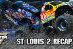 Hot Wheels and Son-Uva Digger On Top Again | St. Louis Monster Jam 2016