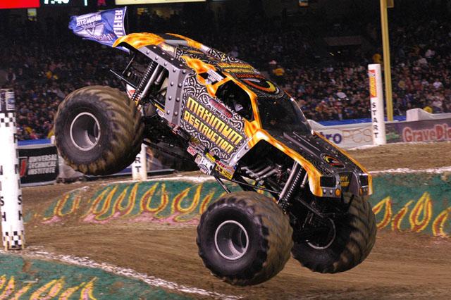 Monster Jam Las Vegas >> Anaheim, California - Monster Jam - January 10, 2009 - AllMonster.com - Where Monsters Are What ...